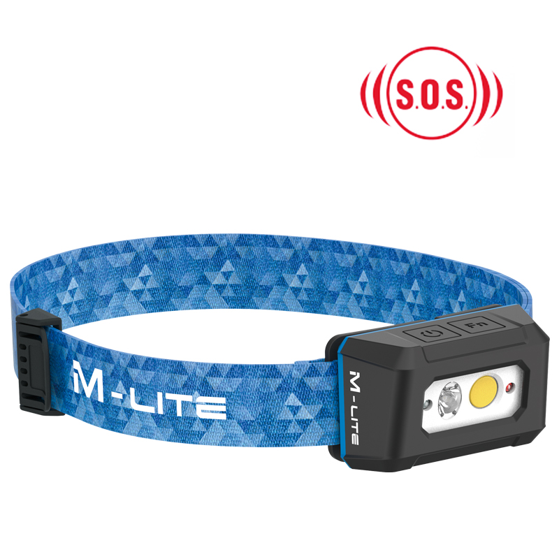 ALS戶外防水led頭燈頭戴式強光遠射應急燈充電釣魚專用SOS急救閃爍