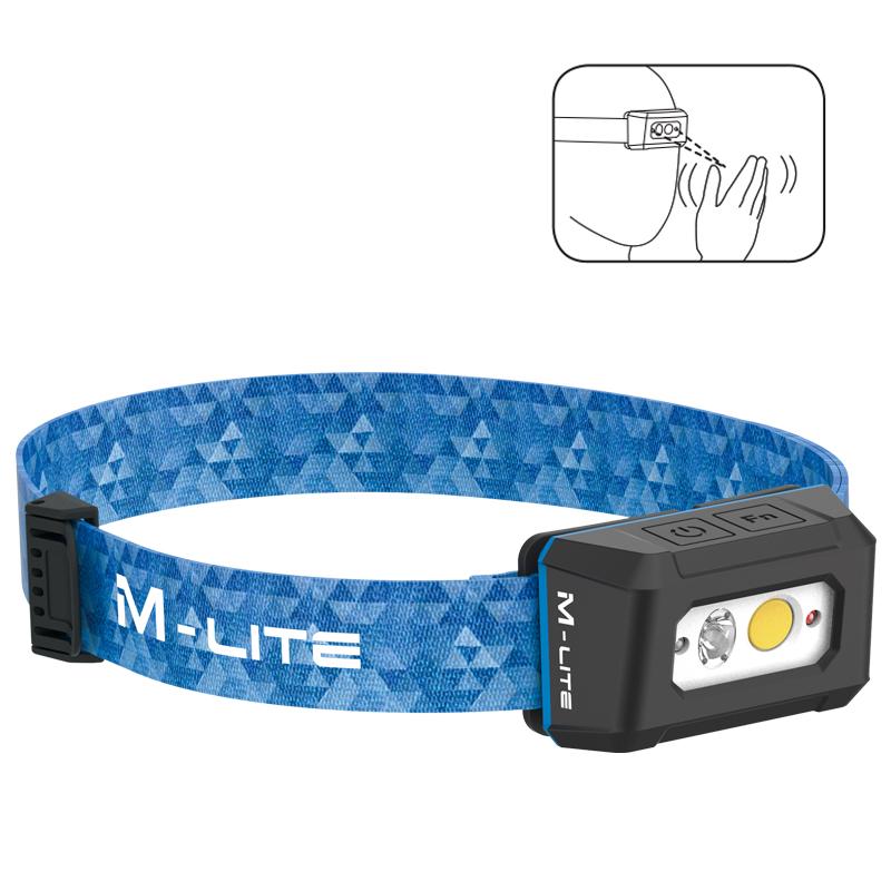 ALS戶外防水led頭燈頭戴式強光遠射應急燈感應揮手充電釣魚專用