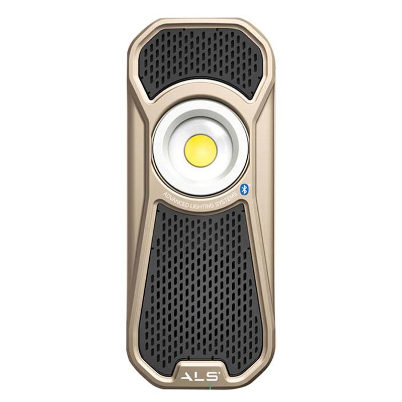 AUD601R 無線藍牙音響燈(香檳金)