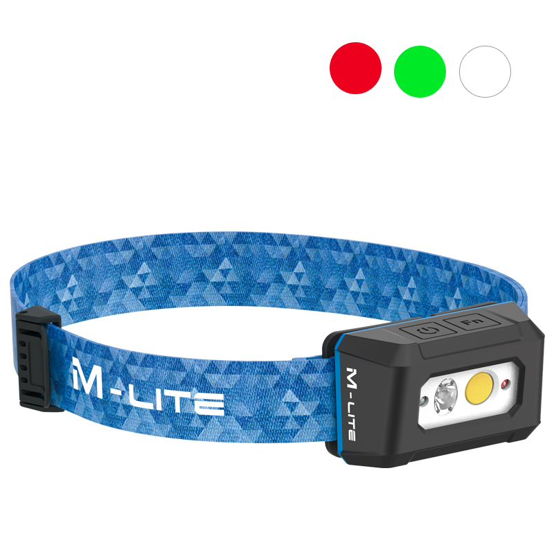 ALS戶外防水led頭燈頭戴式強光遠射應急燈紅綠光隱蔽充電釣魚專用